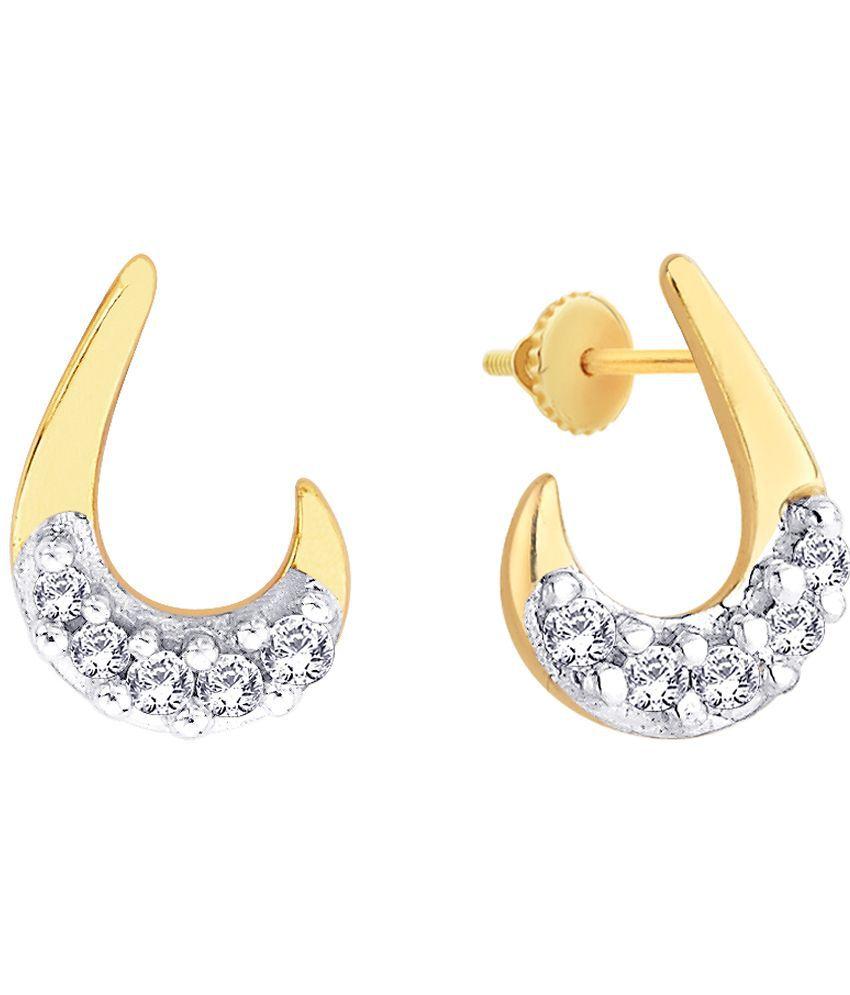 Shuddhi 14 Kt Gold Designer Earrings