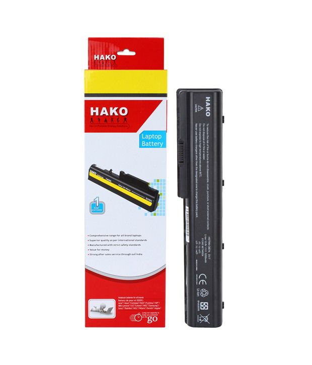 Hako HP Compaq Pavilion DV7-6c65ez 6 Cell Laptop Battery