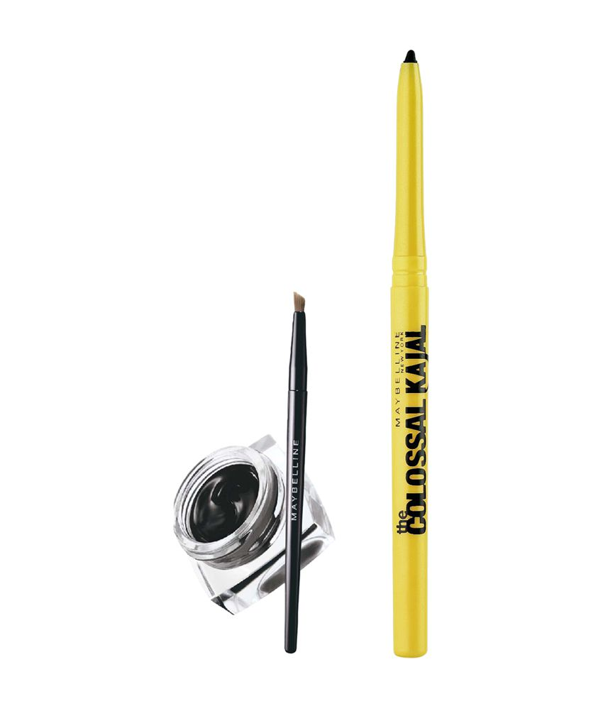 ba9c706fe1a Maybelline Drama Gel Liner with Colossal Kajal Free: Buy Maybelline Drama  Gel Liner with Colossal Kajal Free at Best Prices in India - Snapdeal