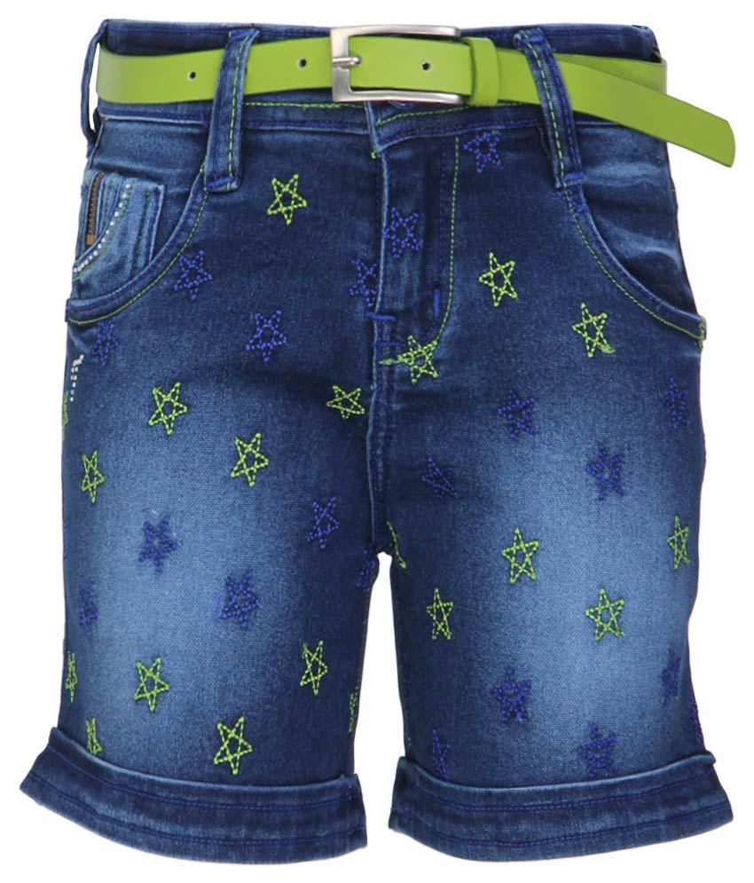 Monte Carlo Blue Shorts