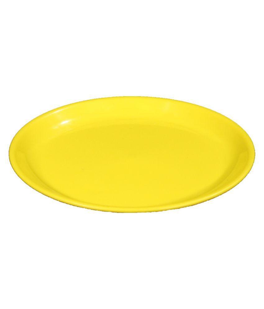 ... Navacon Yellow Polypropylene Plates - Set of 3  sc 1 st  Snapdeal & Navacon Yellow Polypropylene Plates - Set of 3: Buy Online at Best ...