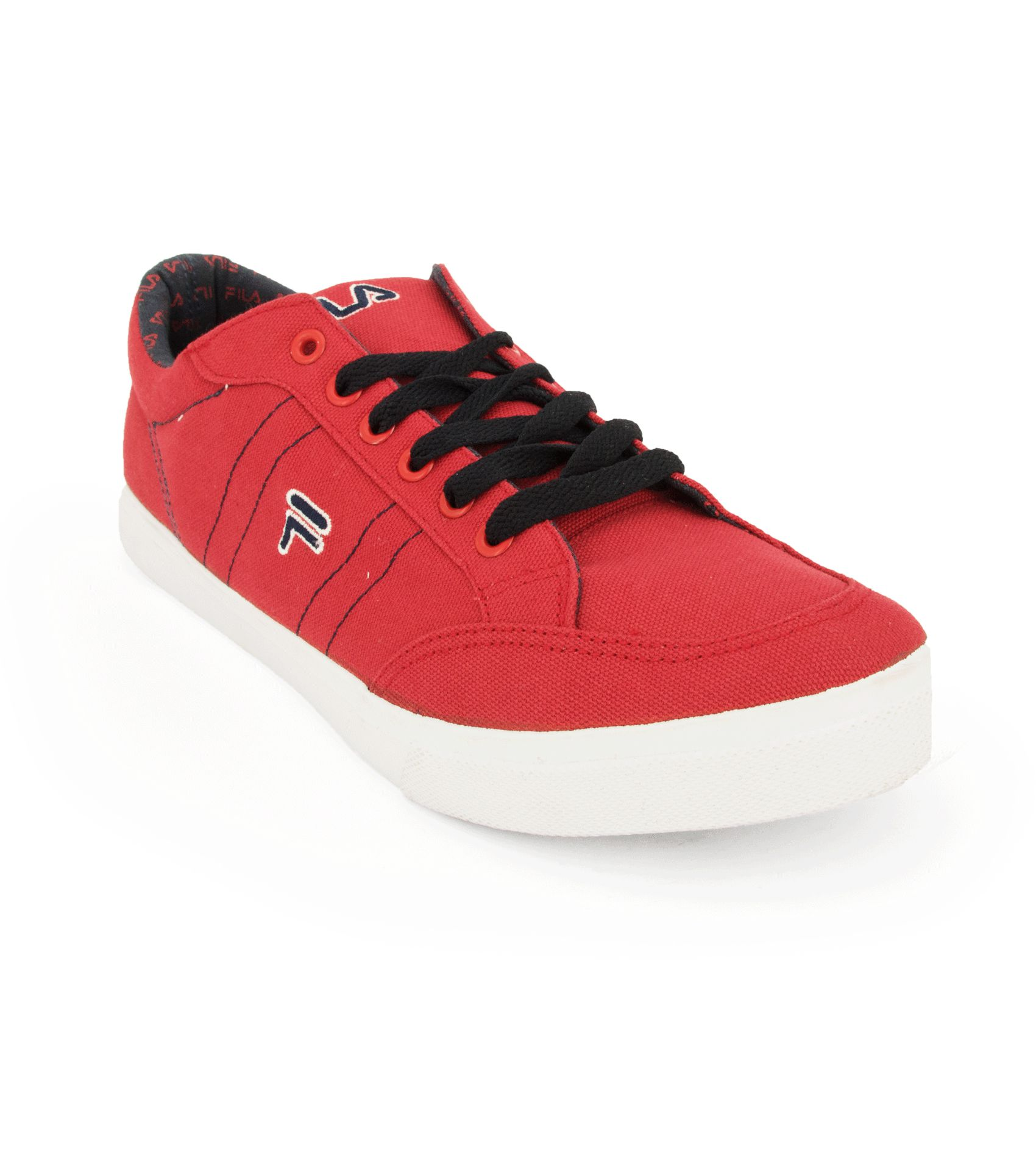 Red Canvas Men S Shoes