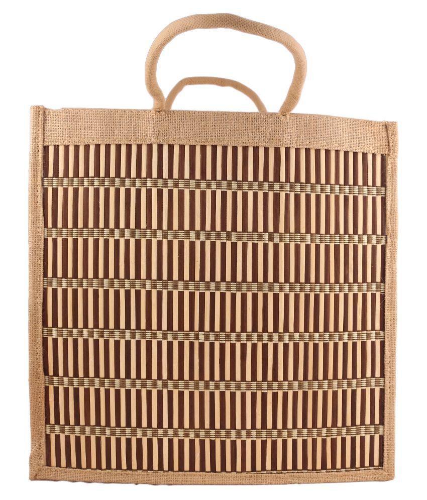 Imex Confiance Brown Shopping Bags