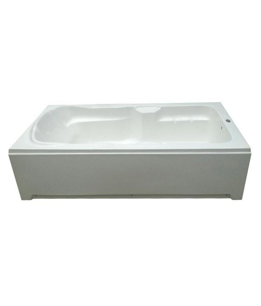 Buy Madonna Elegant Acrylic Bath Tub with Front Panel and Side Panel ...