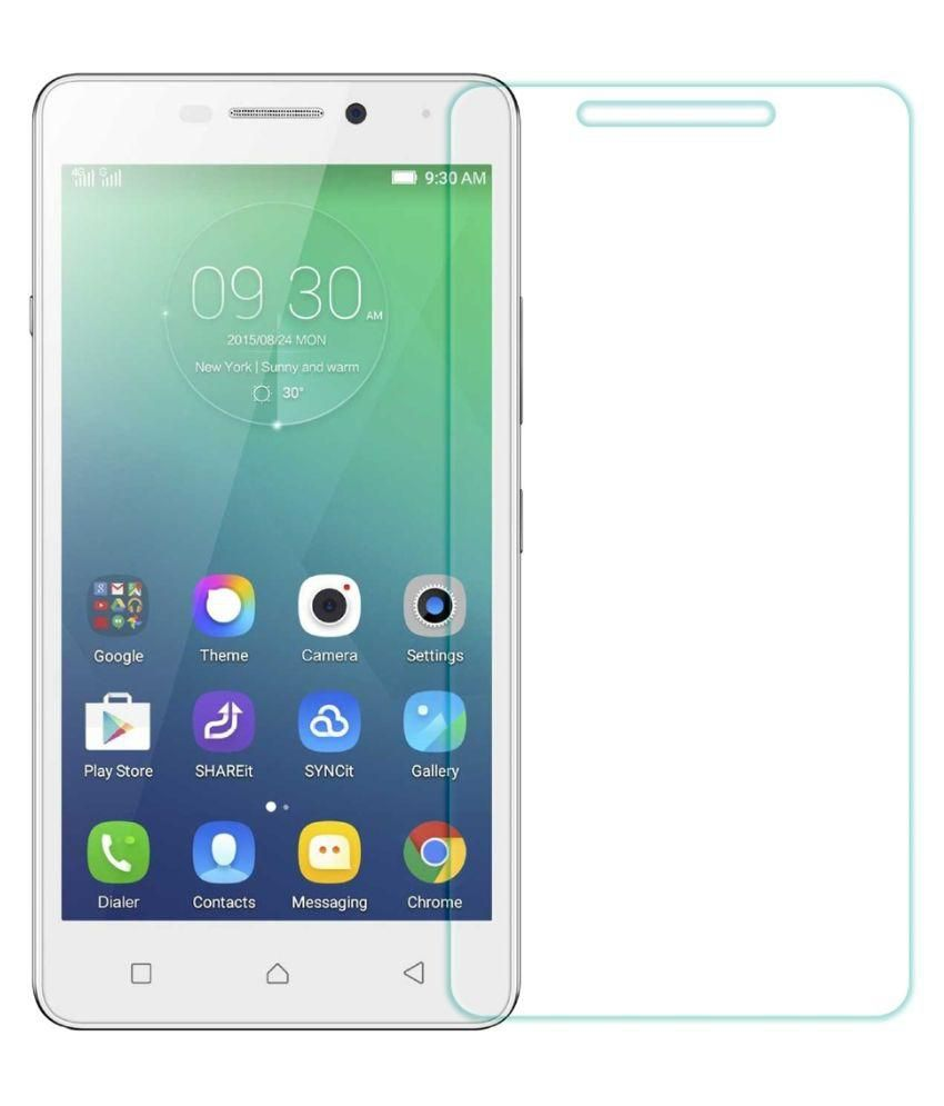 Prixcracker Tempered Glass Screen Guard for Lenovo Vibe P1M