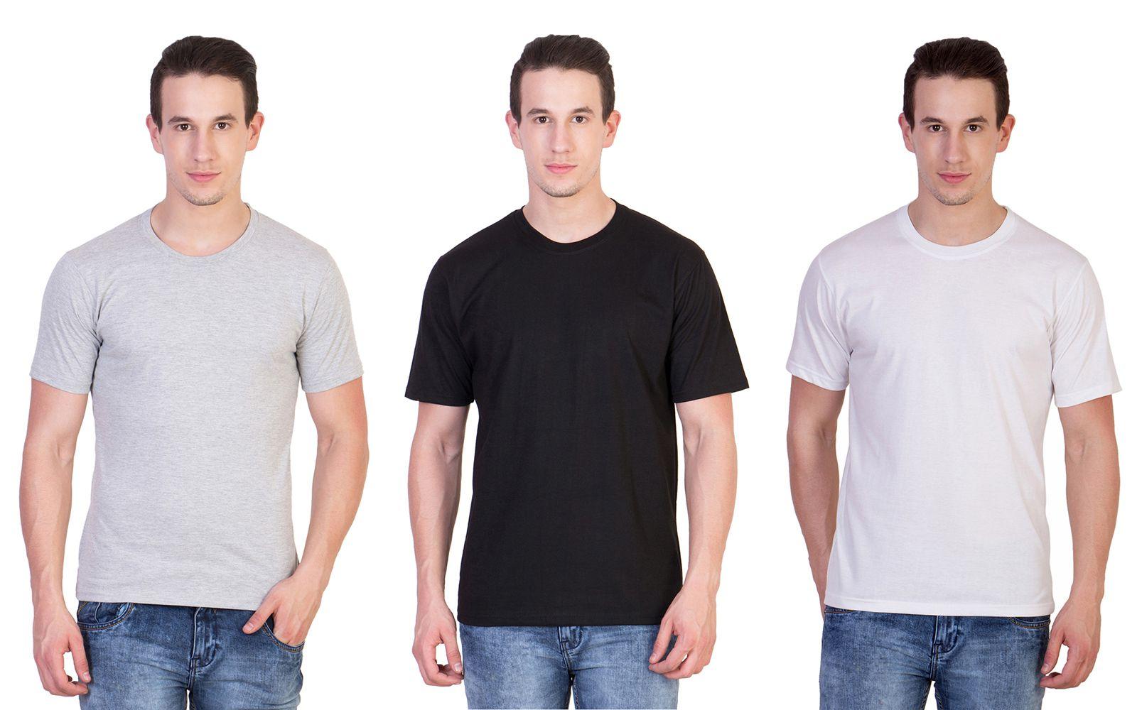 Skylark Designs Multi Round T Shirt - Pack of 3