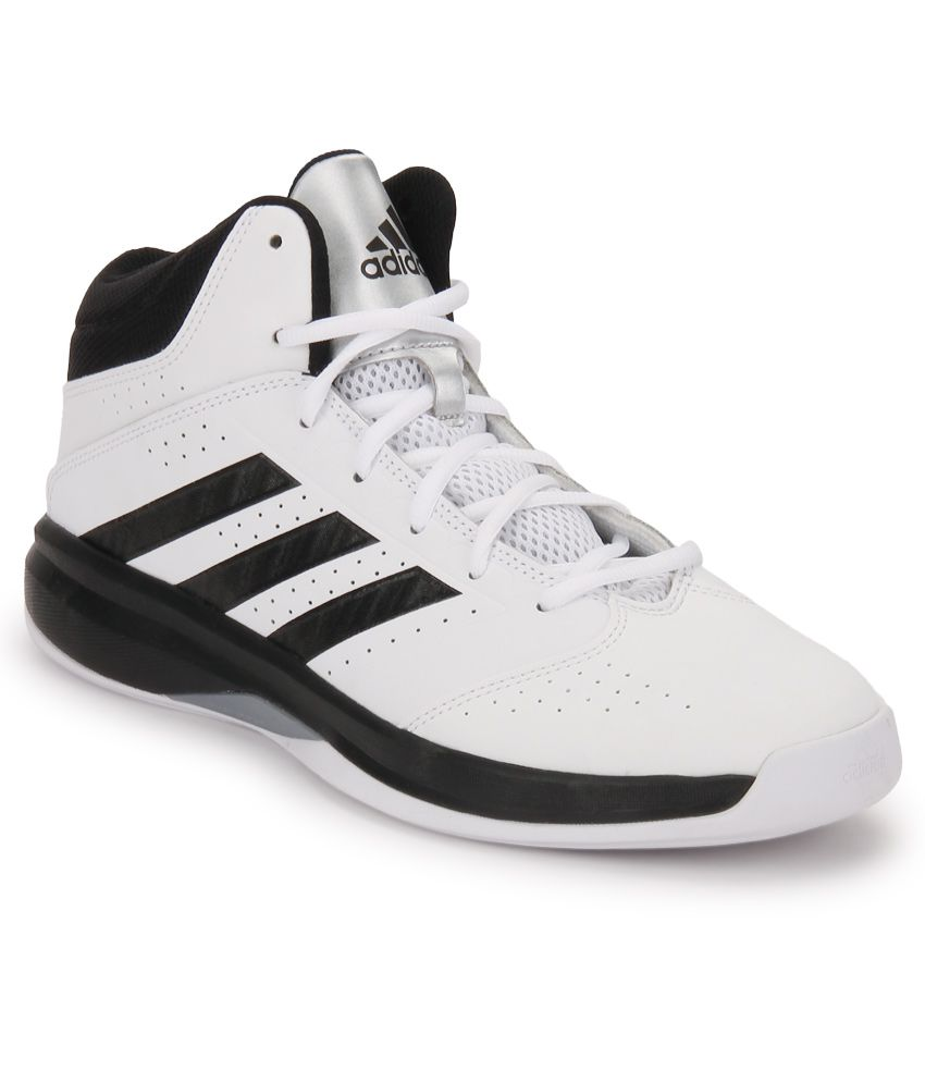 56f5bfd06109 Adidas Isolation 2 White Basketball Sports Shoes - Buy Adidas Isolation 2  White Basketball Sports Shoes Online at Best Prices in India on Snapdeal