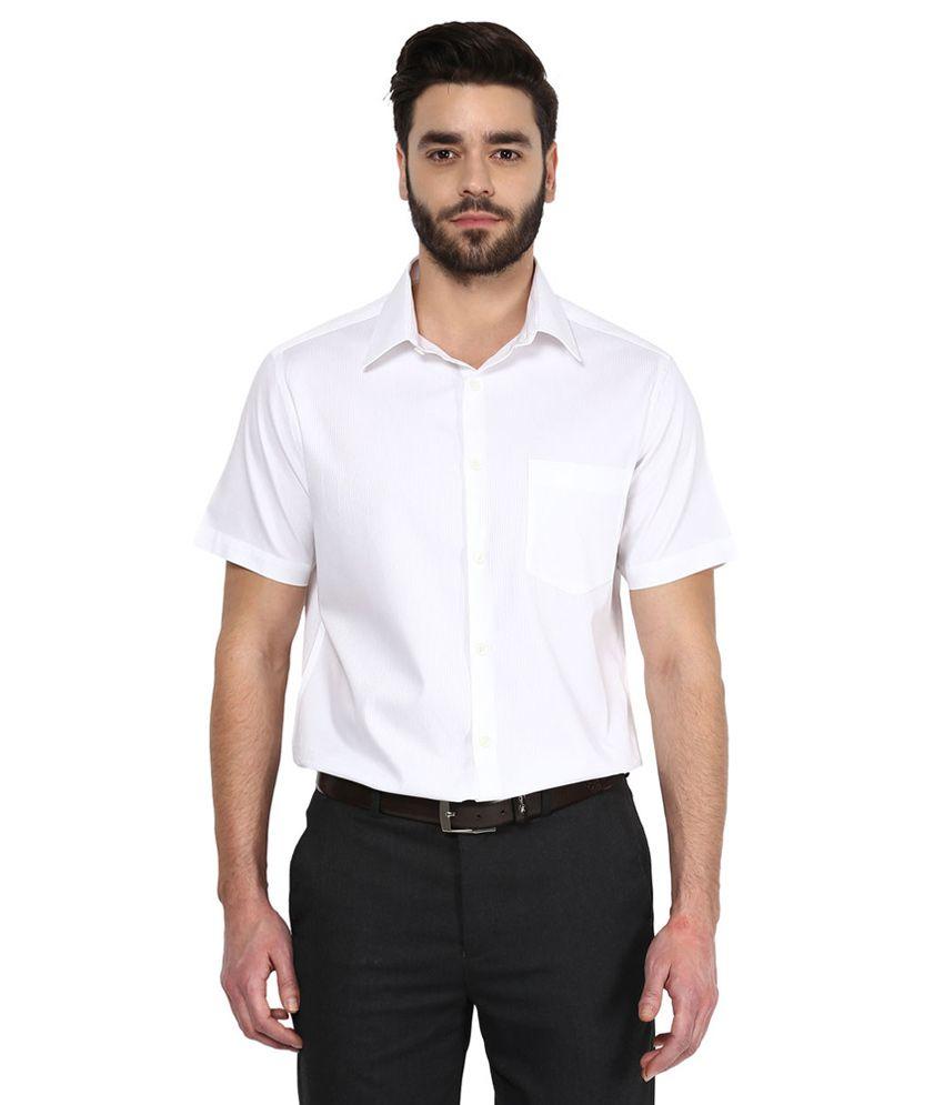 b11a474e46cde3 White Slim Fit Shirt Online India - BCD Tofu House