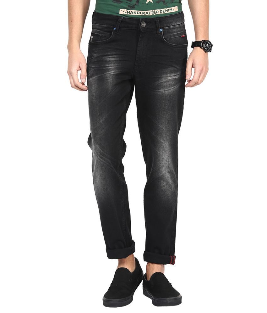 SF Jeans By Pantaloons Black Slim Fit Jeans