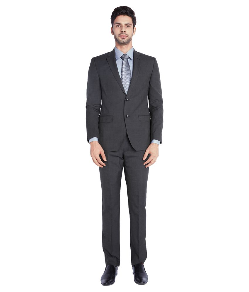 Park Avenue Black Formal Suits