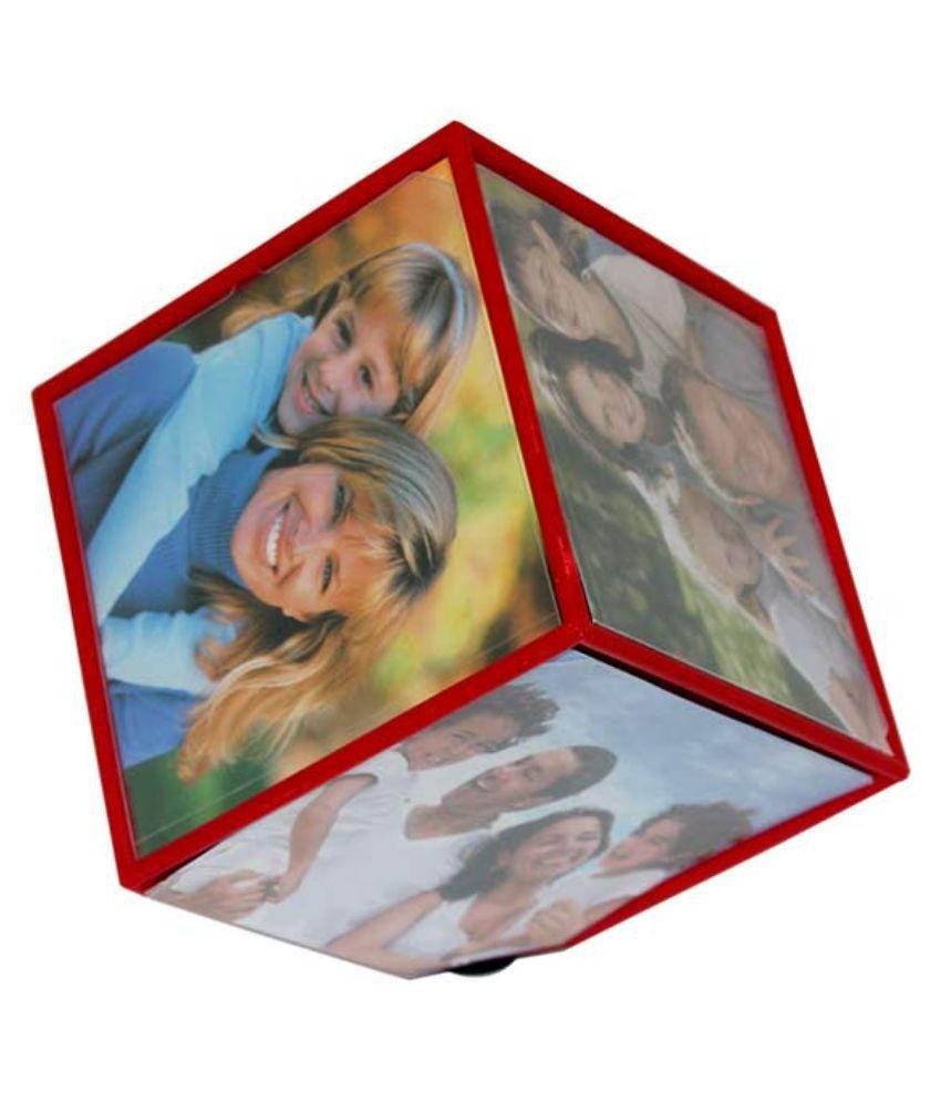 Primo Multicolor Plastic Rotating Cube Photo Frame Buy Primo