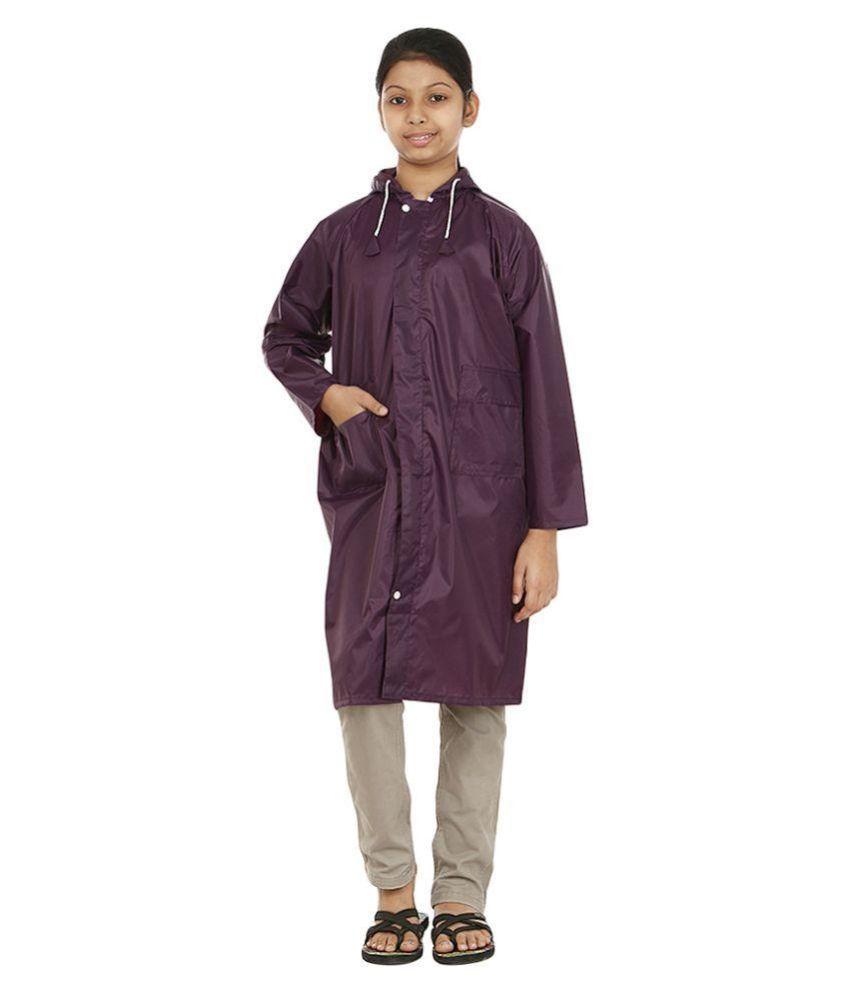 Rainfun Purple Waterproof Raincoat
