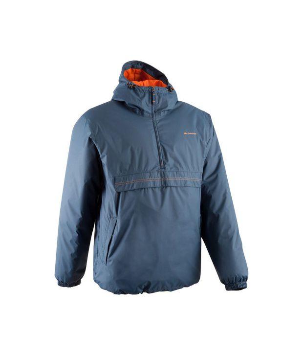 QUECHUA Raincut Warm Men's Waterproof Hiking Jacket