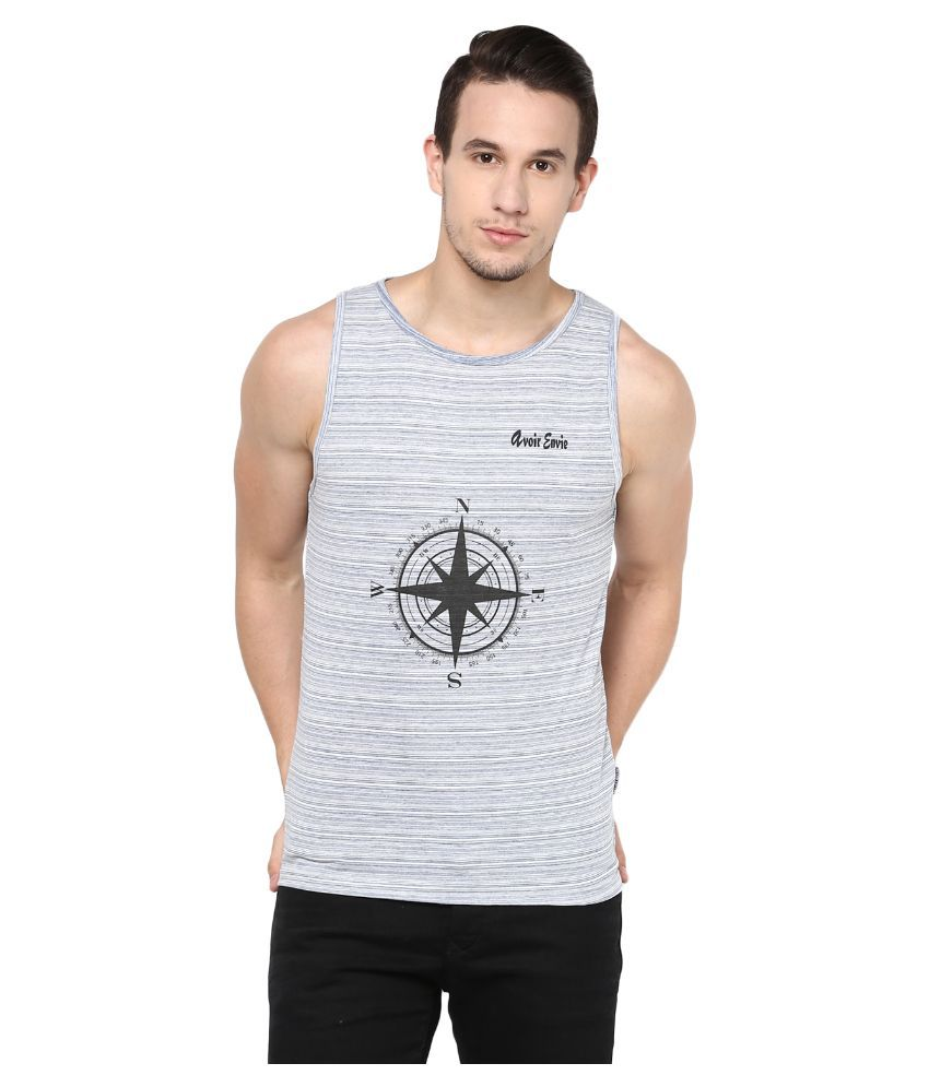 Avoir Envie Grey Round T Shirt