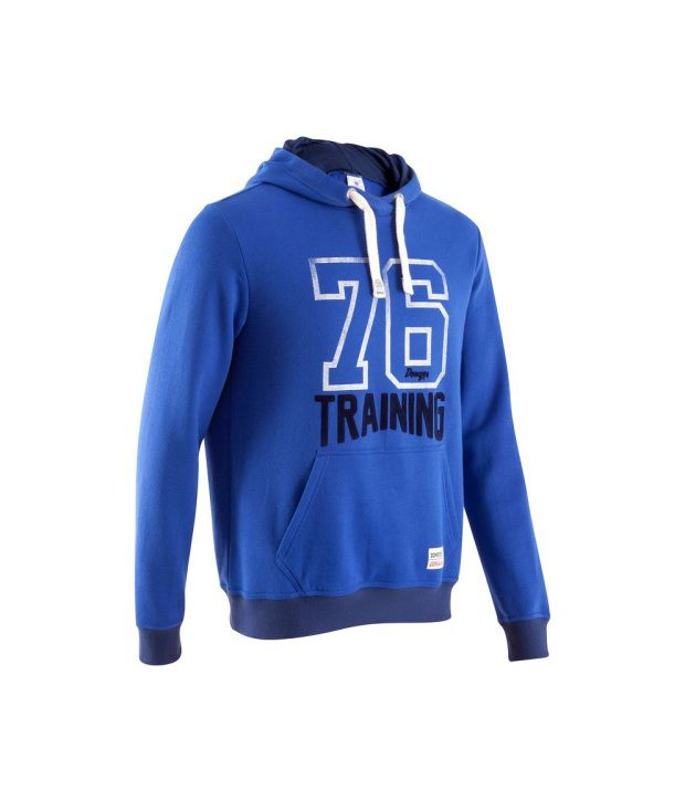 DOMYOS BB Warm Men's Fitness Sweatshirt