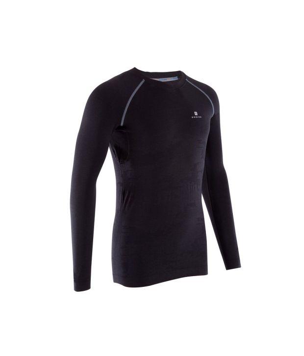 DOMYOS Light Compression Men's Fitness Full Sleeve T-Shirt