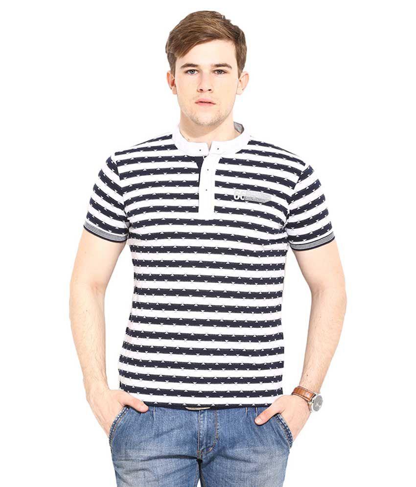 Duke Black Henley T Shirt