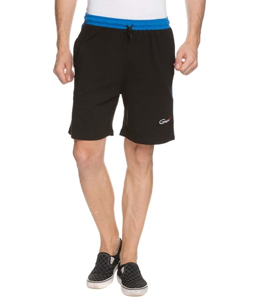Aurro Sports Navy Shorts