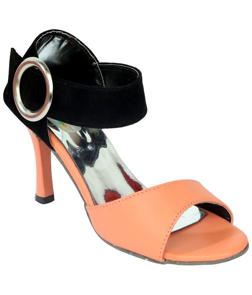 Remson India PeachPuff Stiletto Heels