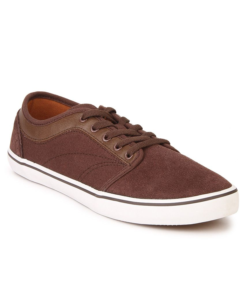 United Colors Of Benetton Brown Lifestyle Casual Shoes