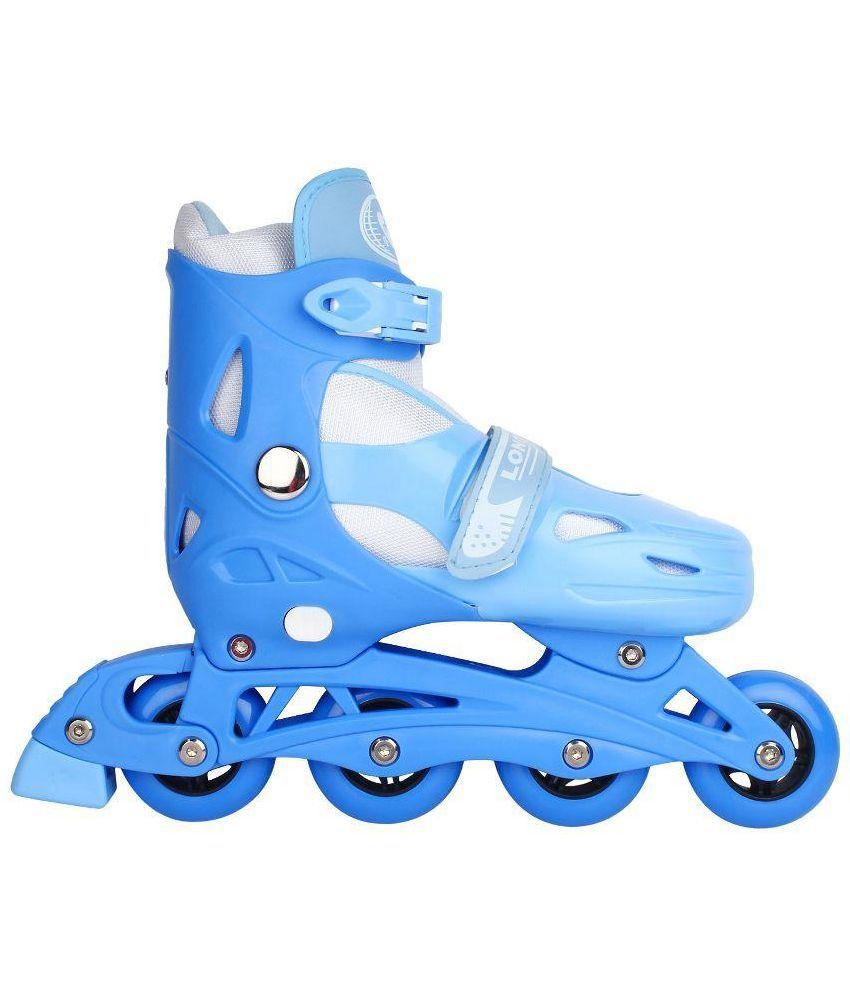 Roller skating shoes buy online -  Zeemon Adjustable Inline Roller Skating Shoes Skates Blue