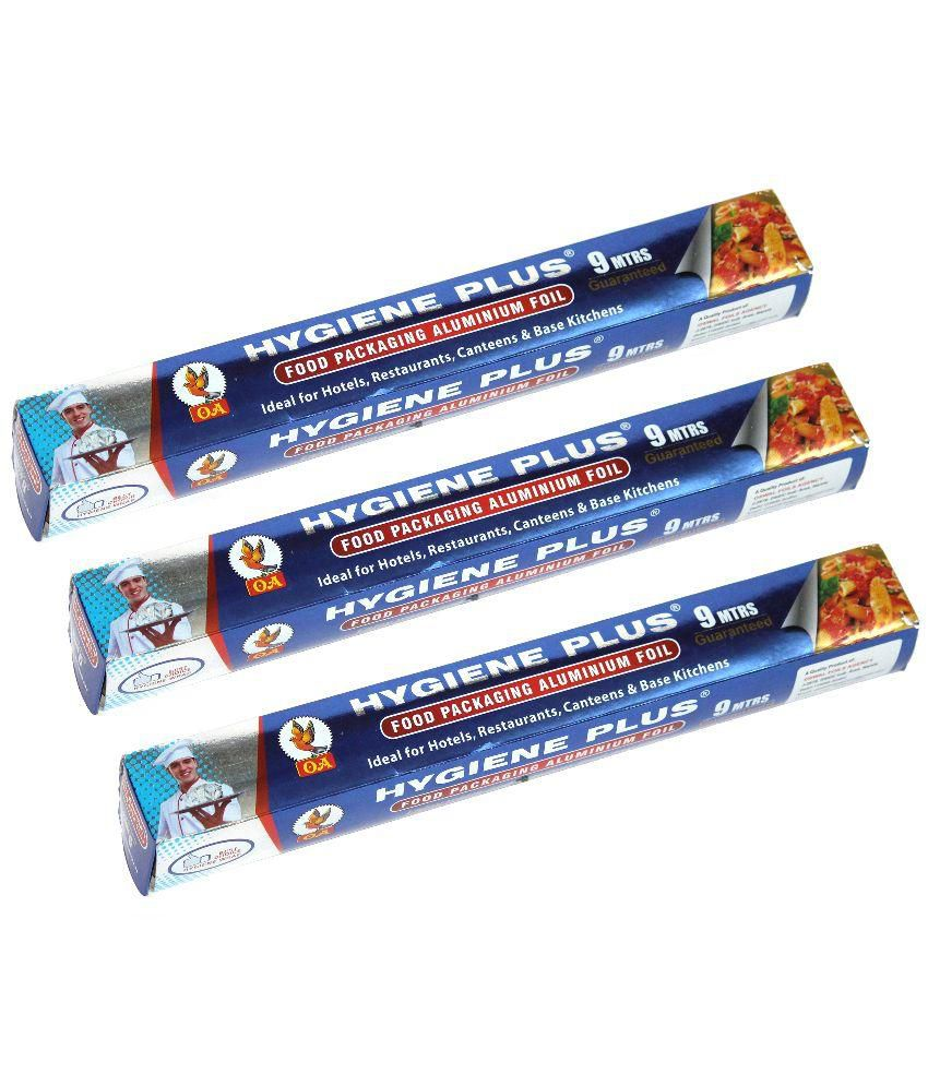 Hygiene Plus Aluminium Foil - Pack of 3