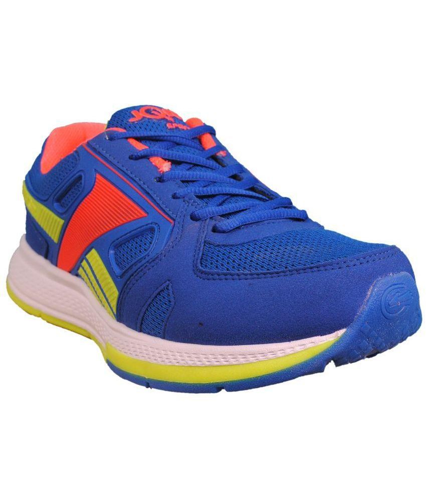 JQR Blue Running Shoes