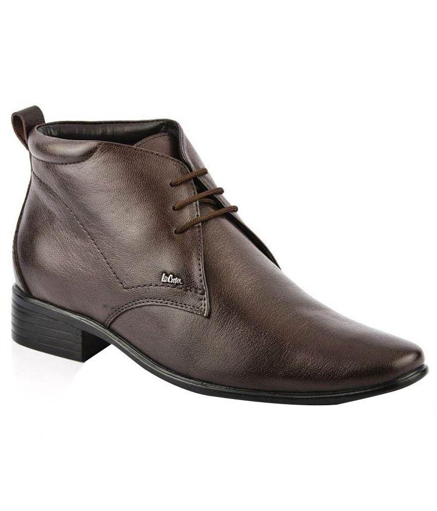 Lee Cooper Brown Boots