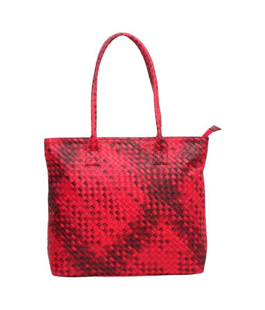 Murcia Red P.U. Tote Bag