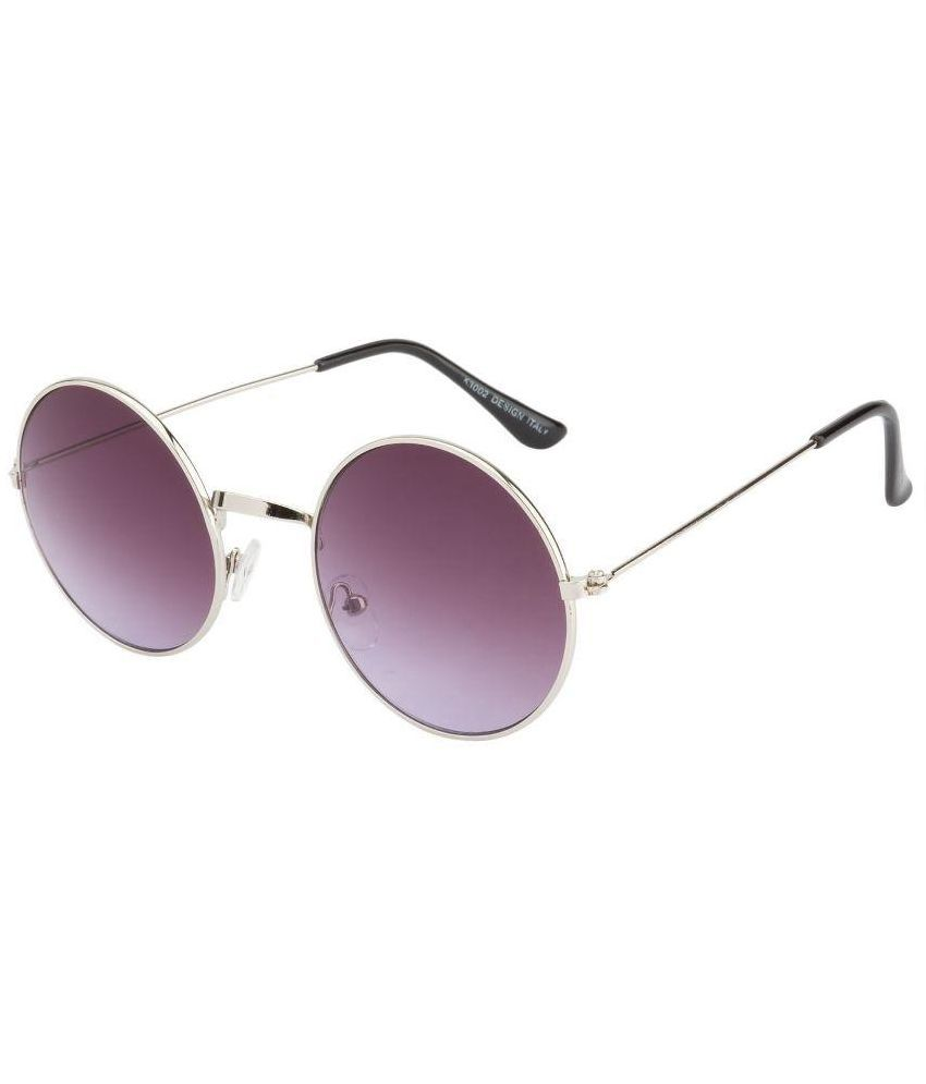 ZYX Purple Round Sunglasses ( ZYX-150 )