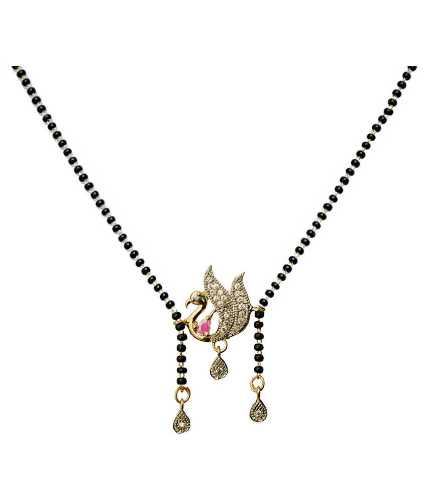 GirlZ! Fashion Golden Alloy Mangalsutra