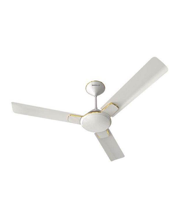 Havells 1200 Mm Enticer Ceiling Fan White Gold Price In