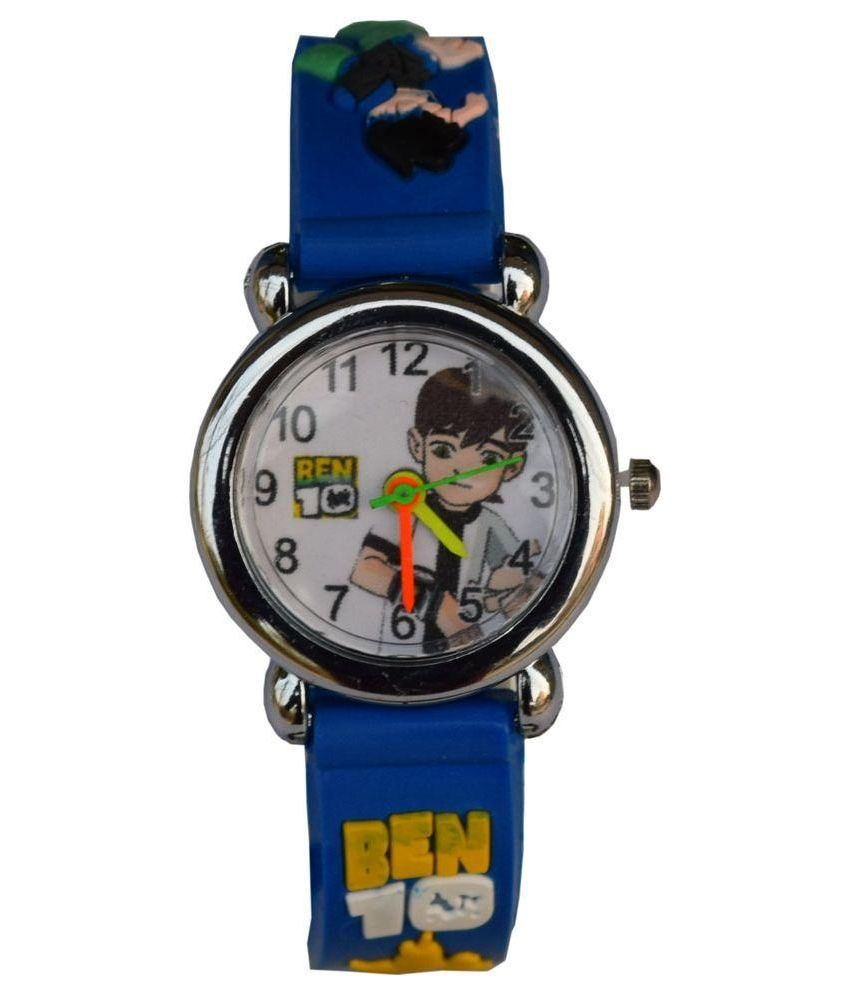 Lecozt Blue Rubber Analog Watch for Kids Price in India ...