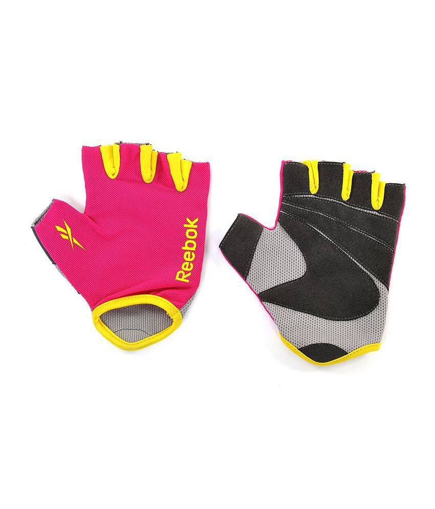 Reebok Pink Gloves