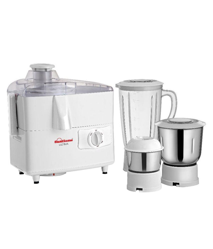 Slow Juicer Sunflame : Sunflame ULTIMAJMG Juicer Mixer Grinder White Price in India - Buy Sunflame ULTIMAJMG Juicer ...