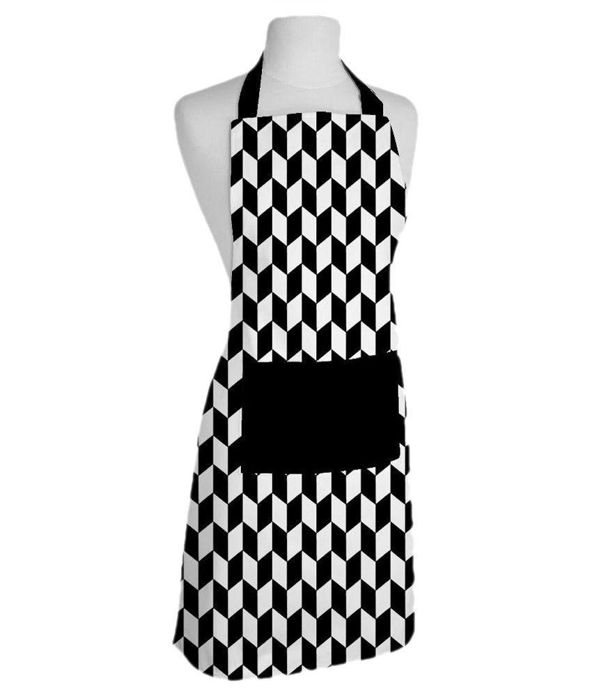 Buy white apron online - Airwill Single Cotton Apron