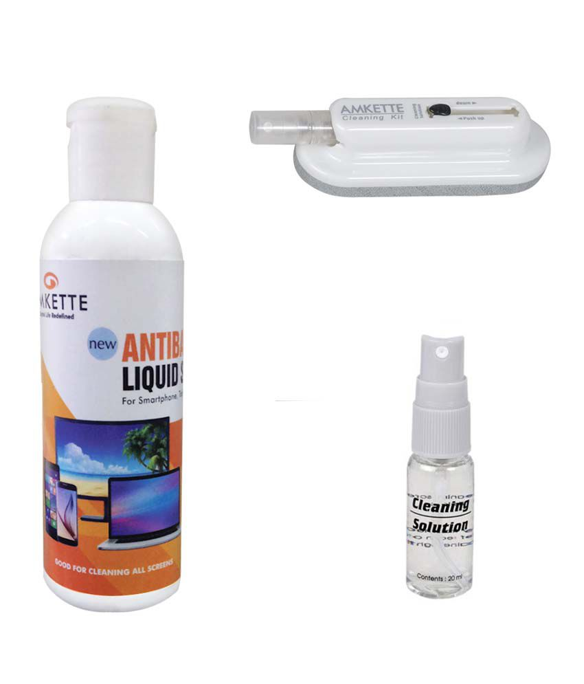 Amkette Ultra Portable Screen Cleaning Kit for All Screens