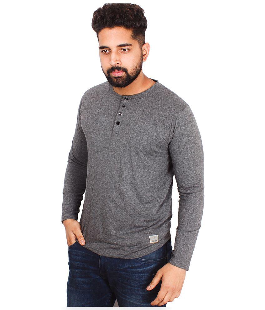 Arcanumz Grey Round T Shirt