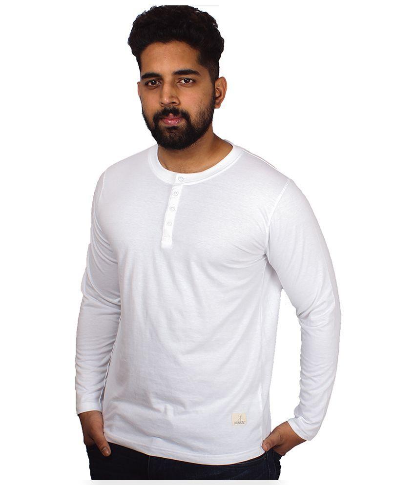 Arcanumz White Round T Shirt
