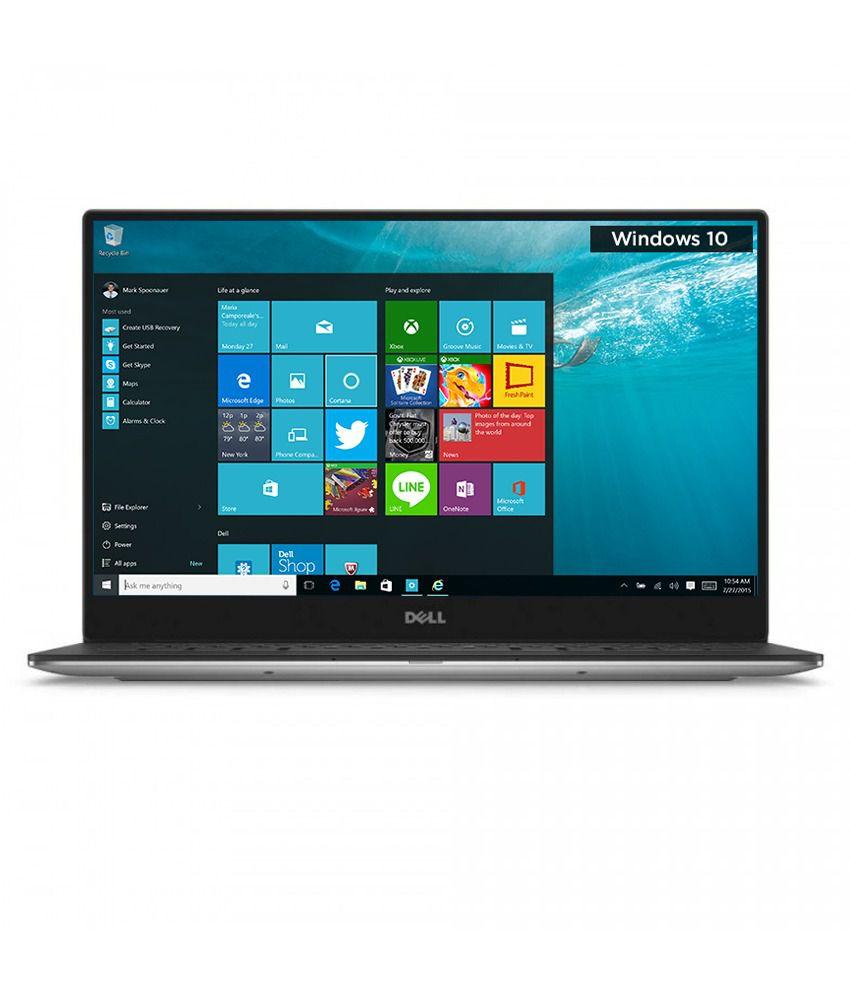 Dell XPS 13- Dino 2 Notebook (Y560031IN9) (6th Gen Intel Core i3- 4GB RAM- 128GB SSD- 33.78 cm (13.3)- Windows 10) (Silver)