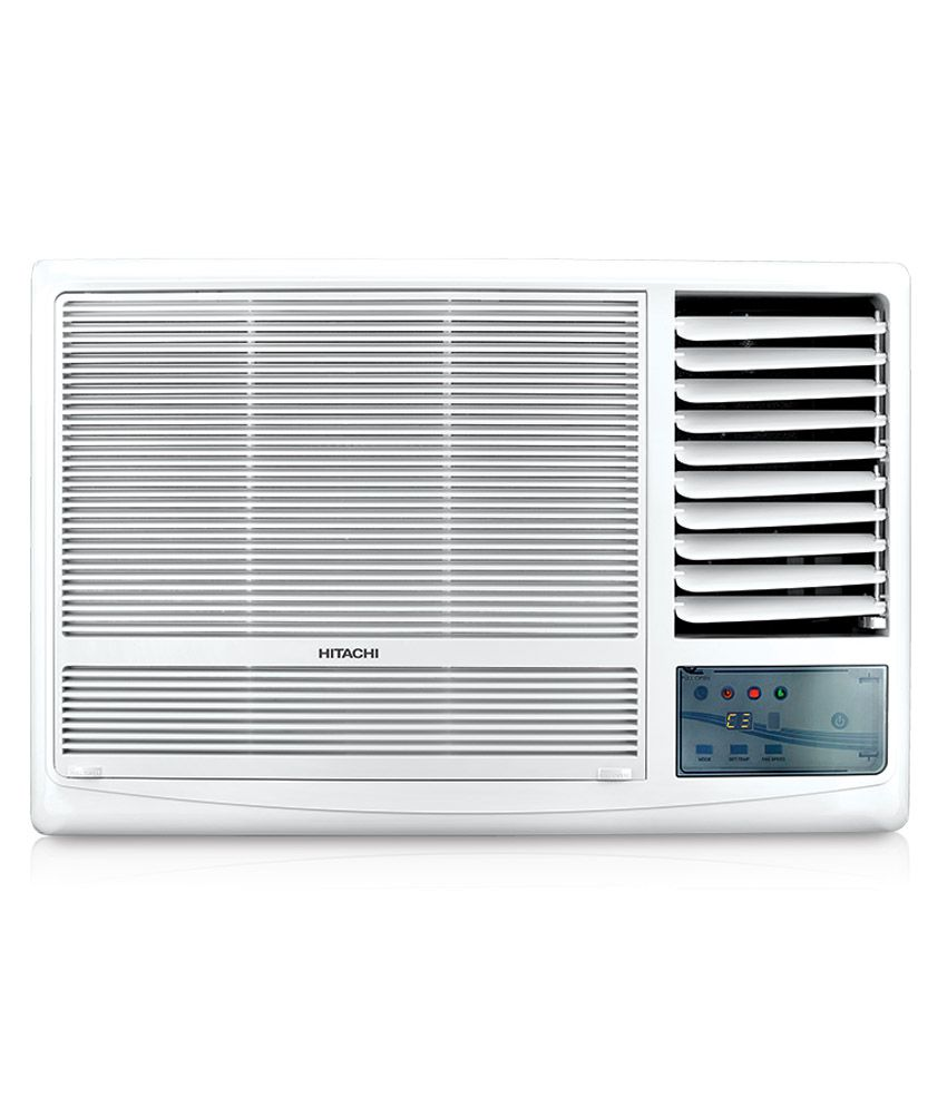 Hitachi 1 5 ton 3 star raw318kud window air conditioner for 1 ton window ac price list 2013