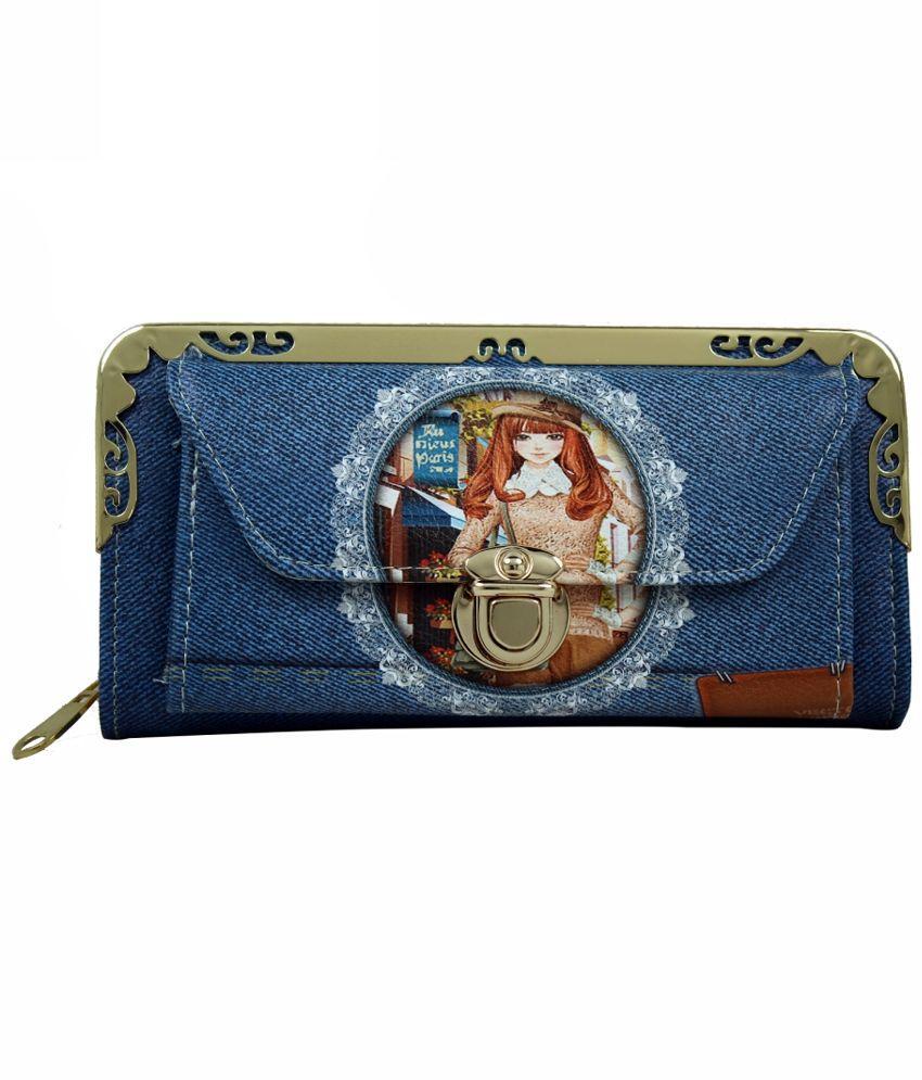 Hydes Blue Wallet