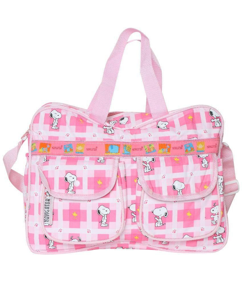 buy bazaar pirates pink diaper bags at best prices in india snapdeal. Black Bedroom Furniture Sets. Home Design Ideas