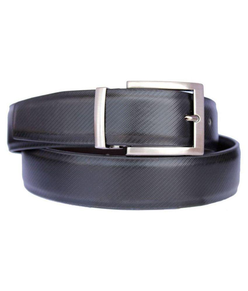 Doller Dx Black Formal Belt for Men