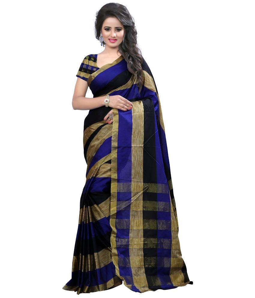 Great Villa Multicoloured Tussar Silk Saree