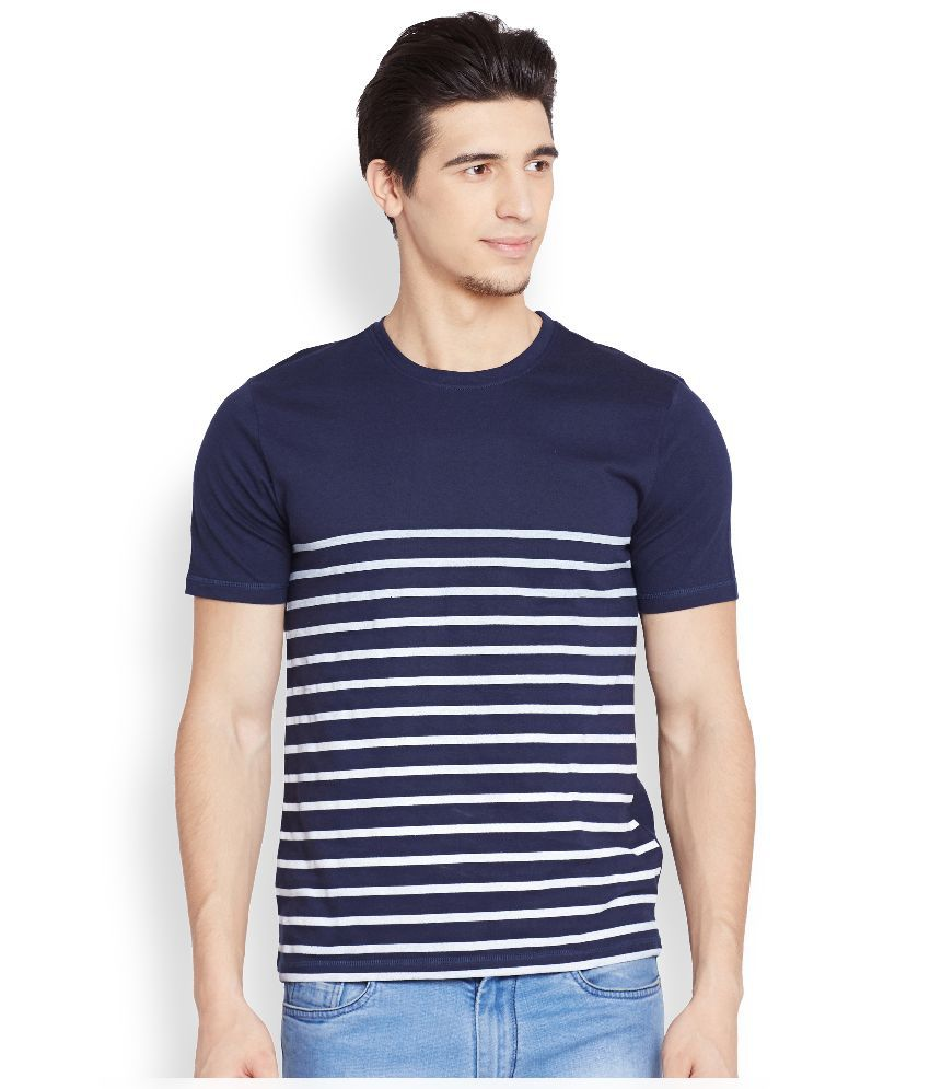 Henry and Smith Blue Round T Shirt