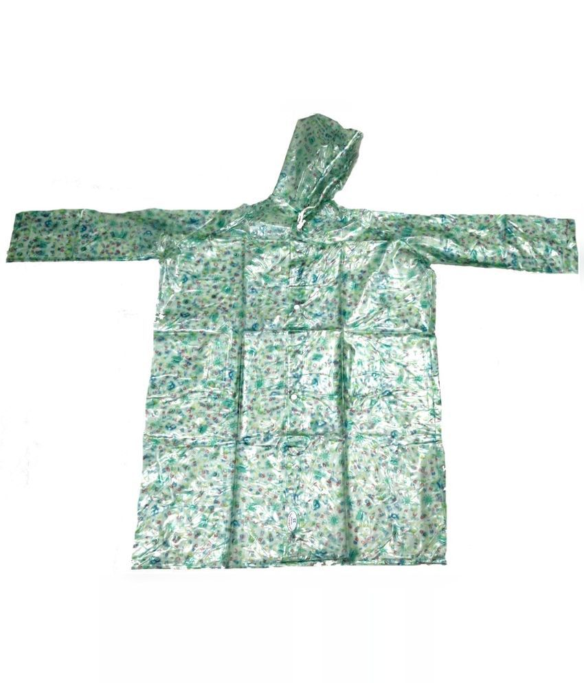 Inside Fashion Multicolour Viscose Rainwear Jacket