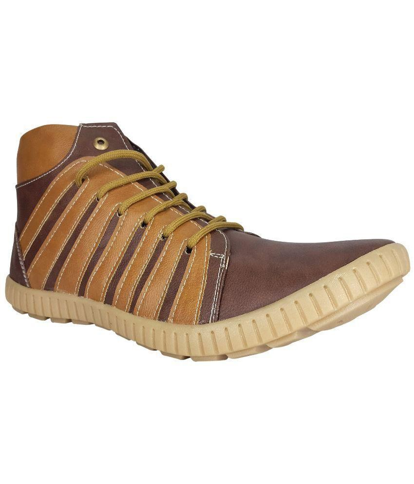 X-Well Brown Boots