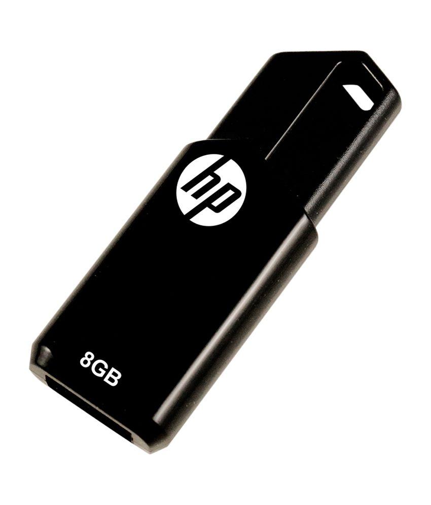 HP V150W 8 GB Pen Drives Black