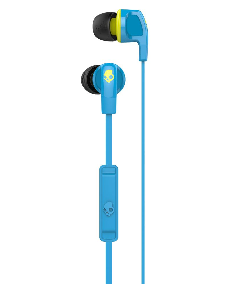 1a0b3f107e1 ... Skullcandy Smokin Bud 2 S2PGFY-327 In Ear Earphones with Mic (Blue) With